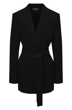 Женский жакет THEORY черного цвета, арт. K0509102 | Фото 1