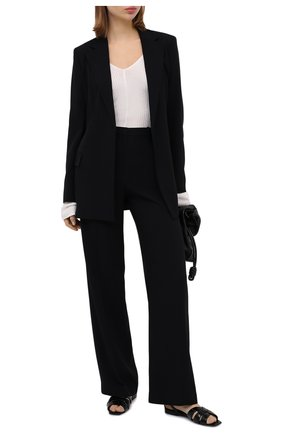 Женский жакет THEORY черного цвета, арт. K0509102 | Фото 2