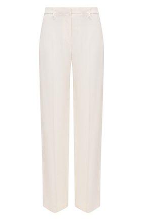 Женские брюки THEORY белого цвета, арт. K0509210 | Фото 1