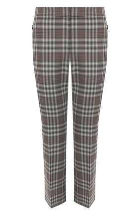 Женские шерстяные брюки THEORY серого цвета, арт. K0601209 | Фото 1