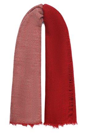 Женский шерстяной шарф UMA WANG красного цвета, арт. A0 M UA0241 | Фото 1 (Материал: Шерсть)