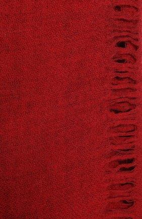 Женский шерстяной шарф UMA WANG красного цвета, арт. A0 M UA0241 | Фото 2 (Материал: Шерсть)