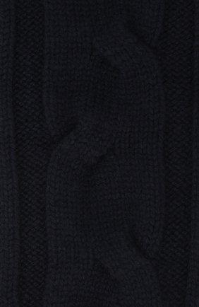 Женские кашемировые носки LORO PIANA темно-синего цвета, арт. FAI3620 | Фото 2