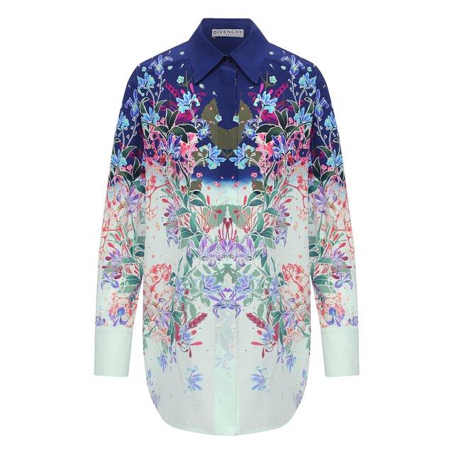 Шелковая рубашка Givenchy