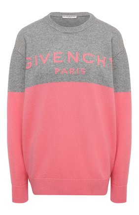 Женский кашемировый свитер GIVENCHY розового цвета, арт. BW90AE4Z7H   Фото 1