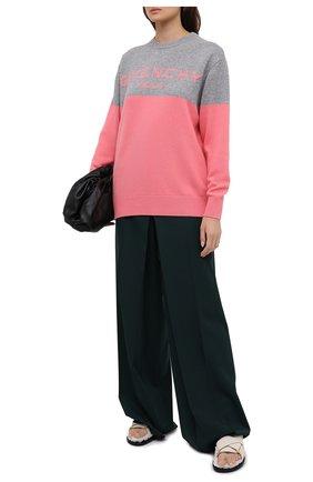 Женский кашемировый свитер GIVENCHY розового цвета, арт. BW90AE4Z7H   Фото 2