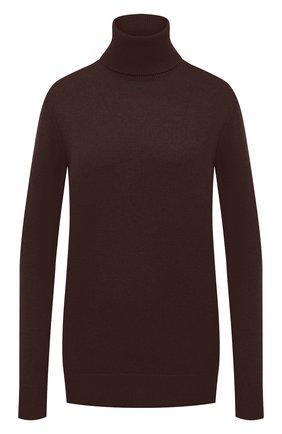 Женский кашемировый свитер DOLCE & GABBANA темно-коричневого цвета, арт. FX832T/JAW5A | Фото 1