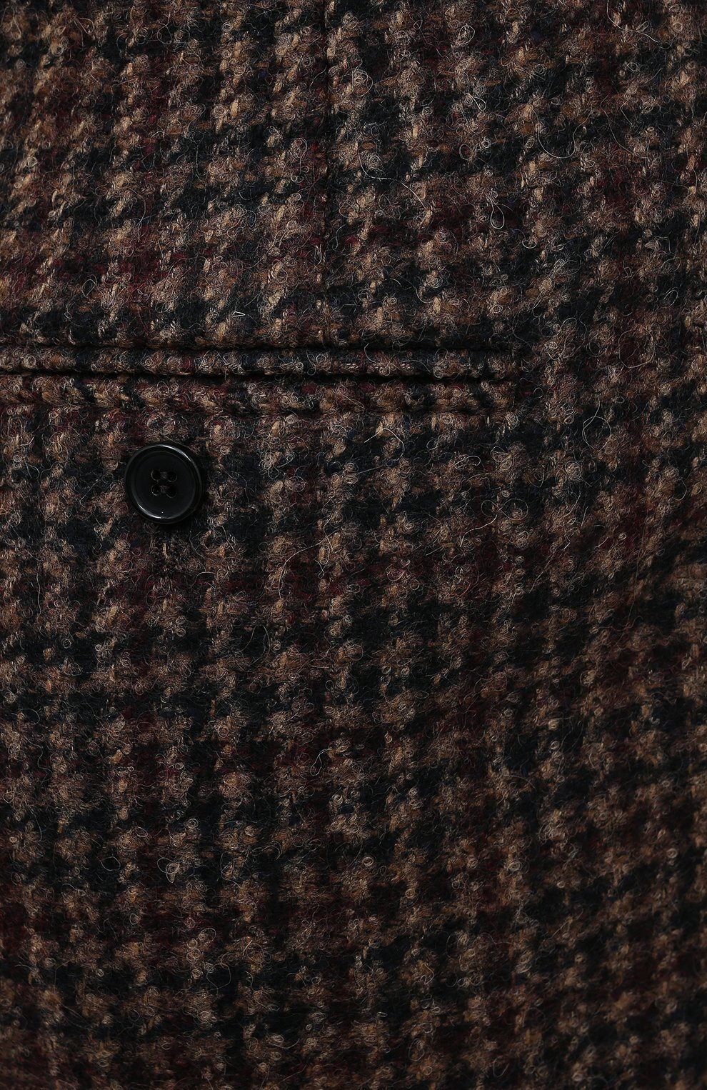Женские шерстяные шорты DOLCE & GABBANA коричневого цвета, арт. FTBX0T/FQMH3 | Фото 6 (Женское Кросс-КТ: Шорты-одежда; Материал внешний: Шерсть; Длина Ж (юбки, платья, шорты): Мини)