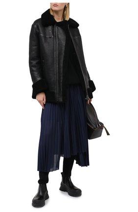 Женская дубленка BALLY черного цвета, арт. L0PE243L-4S035/00 | Фото 2