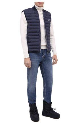 Мужские текстильные сапоги BOGNER темно-синего цвета, арт. 303-5114/DAV0S 3B | Фото 2
