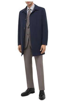Мужской кожаные дерби BARRETT черного цвета, арт. 192U044.9/CERV0 | Фото 2