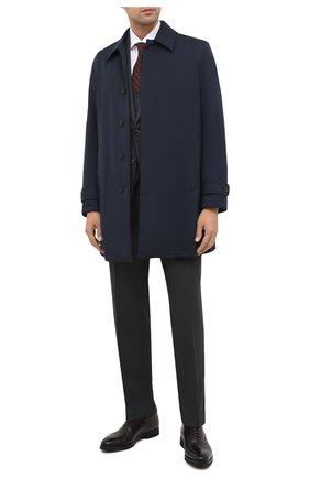 Мужские кожаные оксфорды BARRETT темно-коричневого цвета, арт. 192U065.8/BETIS CREAM | Фото 2