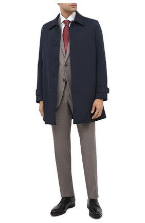 Мужской кожаные дерби BARRETT черного цвета, арт. 192U078.5/BETIS CREAM | Фото 2