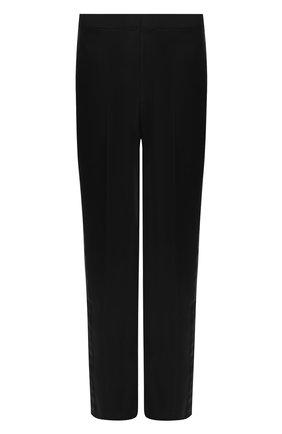 Мужской шерстяные брюки BRIONI черного цвета, арт. RQK40L/09A25/STAZI0 | Фото 1