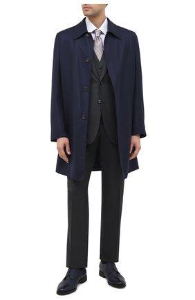 Мужская хлопковая сорочка BRIONI сиреневого цвета, арт. RCA20N/0906X | Фото 2