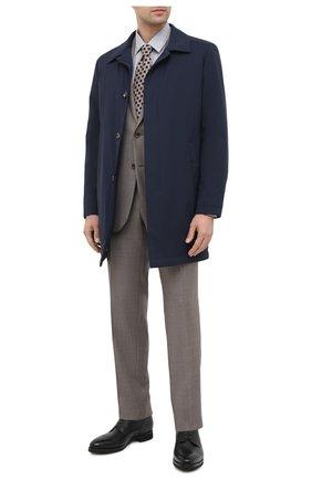Мужская сорочка из хлопка и кашемира CANALI серого цвета, арт. XX14/GX01931 | Фото 2