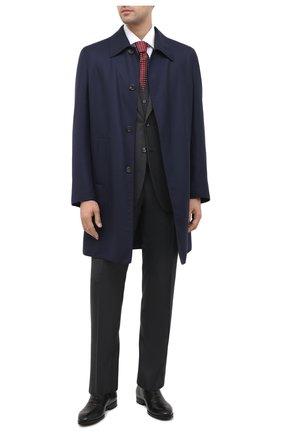 Мужские кожаные дерби CANALI черного цвета, арт. 641226E/RA00466 | Фото 2