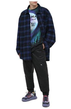 Мужские комбинированные кроссовки odsy-1000 OFF-WHITE фиолетового цвета, арт. 0MIA139E20FAB0013535 | Фото 2