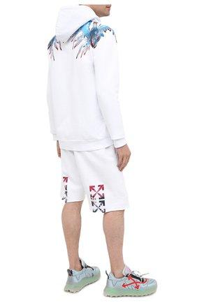 Мужские текстильные кроссовки odsy mesh OFF-WHITE голубого цвета, арт. 0MIA179E20FAB0017925 | Фото 2
