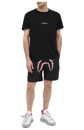 Мужские текстильные кроссовки odsy mesh OFF-WHITE белого цвета, арт. 0MIA179E20FAB0017945 | Фото 2