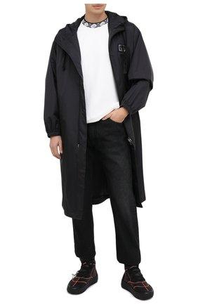 Мужские текстильные кроссовки cst-100 OFF-WHITE черного цвета, арт. 0MIA180E20FAB0011000 | Фото 2