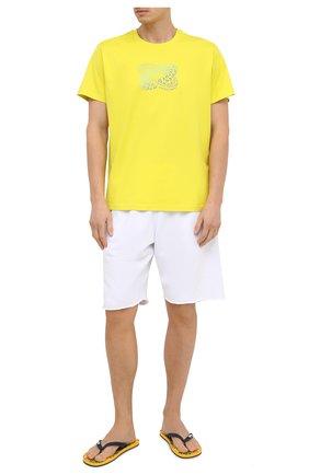 Мужские шлепанцы VILEBREQUIN желтого цвета, арт. COPU0514/118 | Фото 2