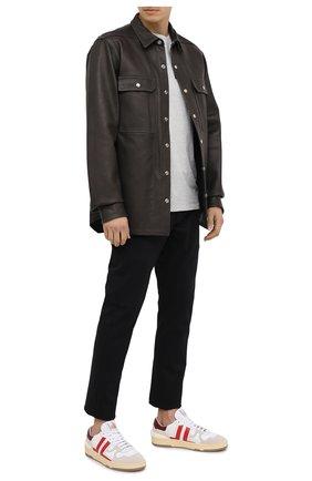Мужской брюки KAZUYUKI KUMAGAI черного цвета, арт. AP03-231 | Фото 2