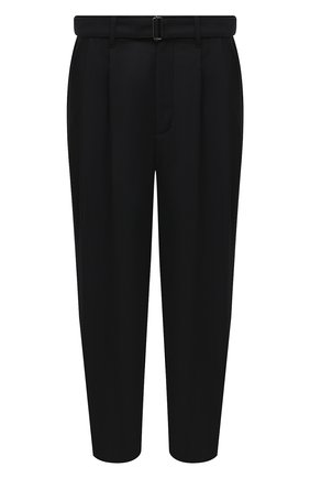 Мужской брюки KAZUYUKI KUMAGAI черного цвета, арт. KP03-004 | Фото 1