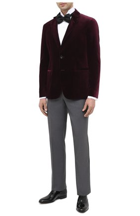 Мужской пиджак GIORGIO ARMANI бордового цвета, арт. 9SGGG06L/T0230 | Фото 2