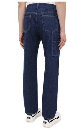 Мужские джинсы HELMUT LANG темно-синего цвета, арт. K04DM201 | Фото 4