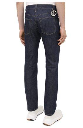 Мужские джинсы HELMUT LANG темно-синего цвета, арт. K04DM208 | Фото 4