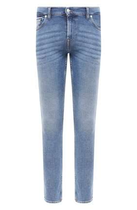 Мужские джинсы 7 FOR ALL MANKIND синего цвета, арт. JSD41200NB | Фото 1