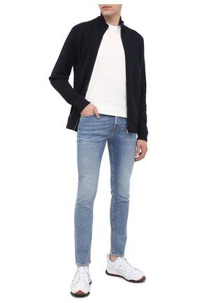 Мужские джинсы 7 FOR ALL MANKIND синего цвета, арт. JSD41200NB | Фото 2