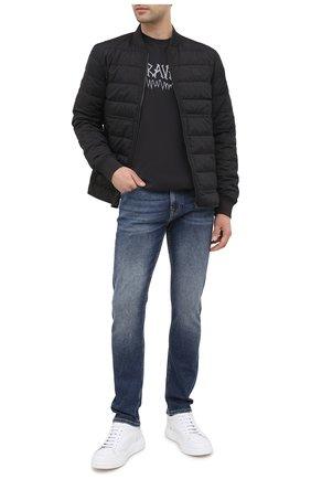 Мужские джинсы 7 FOR ALL MANKIND синего цвета, арт. JSD4A910DF | Фото 2