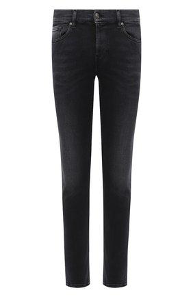 Мужские джинсы 7 FOR ALL MANKIND черного цвета, арт. JSD4B190VB | Фото 1