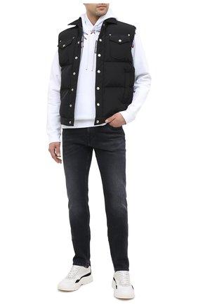 Мужские джинсы 7 FOR ALL MANKIND черного цвета, арт. JSD4B190VB | Фото 2