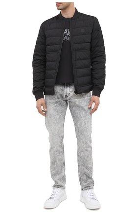 Мужские джинсы 7 FOR ALL MANKIND светло-серого цвета, арт. JSD4R780MG | Фото 2