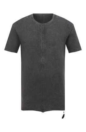 Мужская хлопковая футболка ISAAC SELLAM темно-серого цвета, арт. DEBL0QUE-JERSEY H21 | Фото 1
