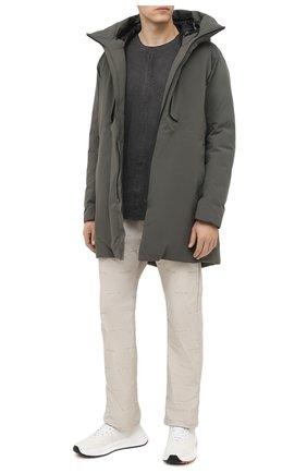 Мужская хлопковая футболка ISAAC SELLAM темно-серого цвета, арт. DEBL0QUE-JERSEY H21 | Фото 2