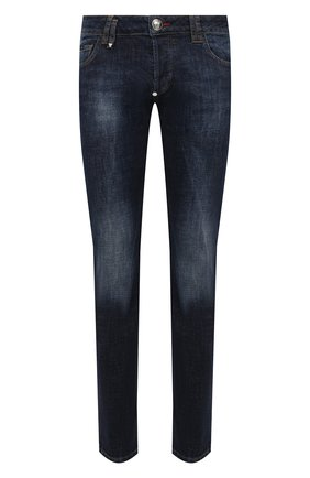 Мужские джинсы PHILIPP PLEIN синего цвета, арт. F20C MDT2280 PDE004N | Фото 1