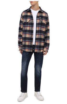 Мужские джинсы PHILIPP PLEIN синего цвета, арт. F20C MDT2280 PDE004N | Фото 2