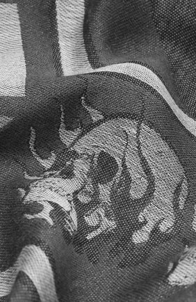 Мужской шарф PHILIPP PLEIN серого цвета, арт. F20A MAA0279 PTE101N | Фото 2