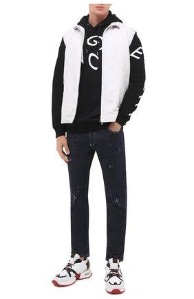 Мужские джинсы PHILIPP PLEIN темно-синего цвета, арт. F20C MDT2237 PDE004N | Фото 2