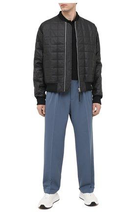 Мужской брюки AMBUSH темно-серого цвета, арт. BMCA002F20FAB001 | Фото 2