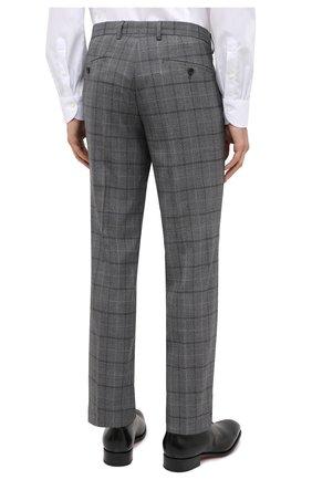 Мужской шерстяной костюм BOSS серого цвета, арт. 50438509 | Фото 5