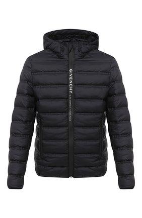 Мужская утепленная куртка GIVENCHY черного цвета, арт. BM00KN12Y4 | Фото 1