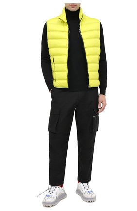 Мужской хлопковые брюки-карго GIVENCHY черного цвета, арт. BM50L911YS | Фото 2
