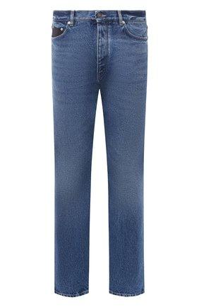 Мужские джинсы GIVENCHY синего цвета, арт. BM50LJ50G3 | Фото 1