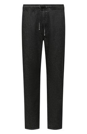 Мужские джинсы GIVENCHY черного цвета, арт. BM50LN505U | Фото 1