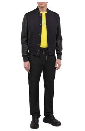 Мужские джинсы GIVENCHY черного цвета, арт. BM50LN505U | Фото 2